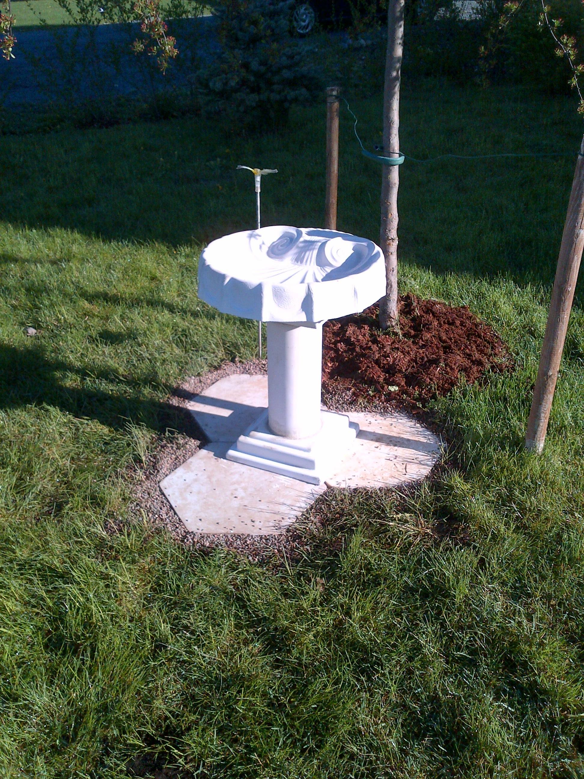 Bird Baths Mayhews Concrete Creations
